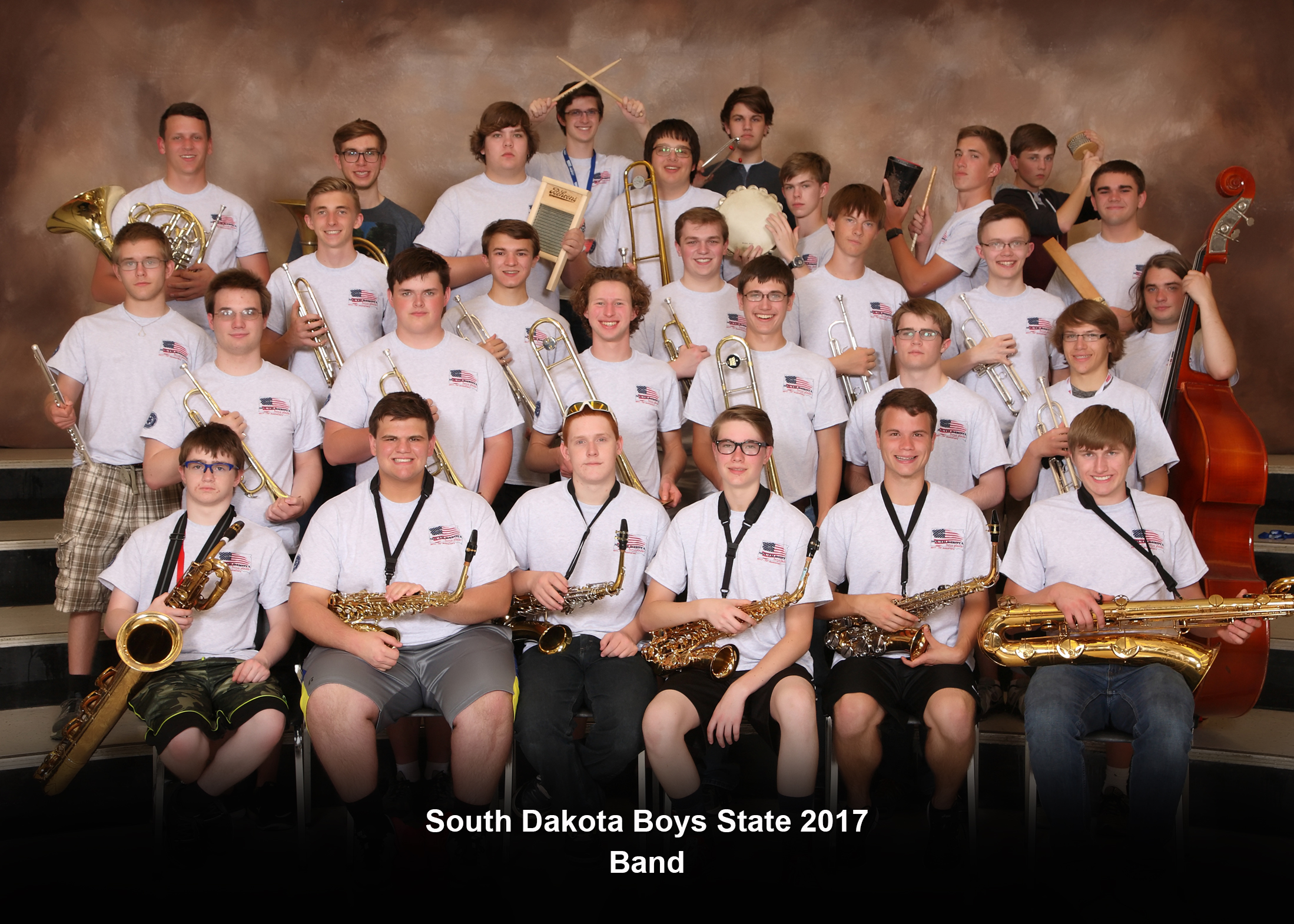 South Dakota Boys State Band 2017