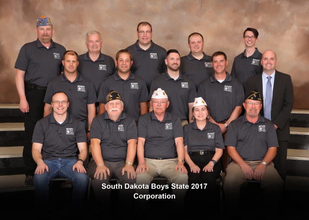 South Dakota Boys State Corporation 2017