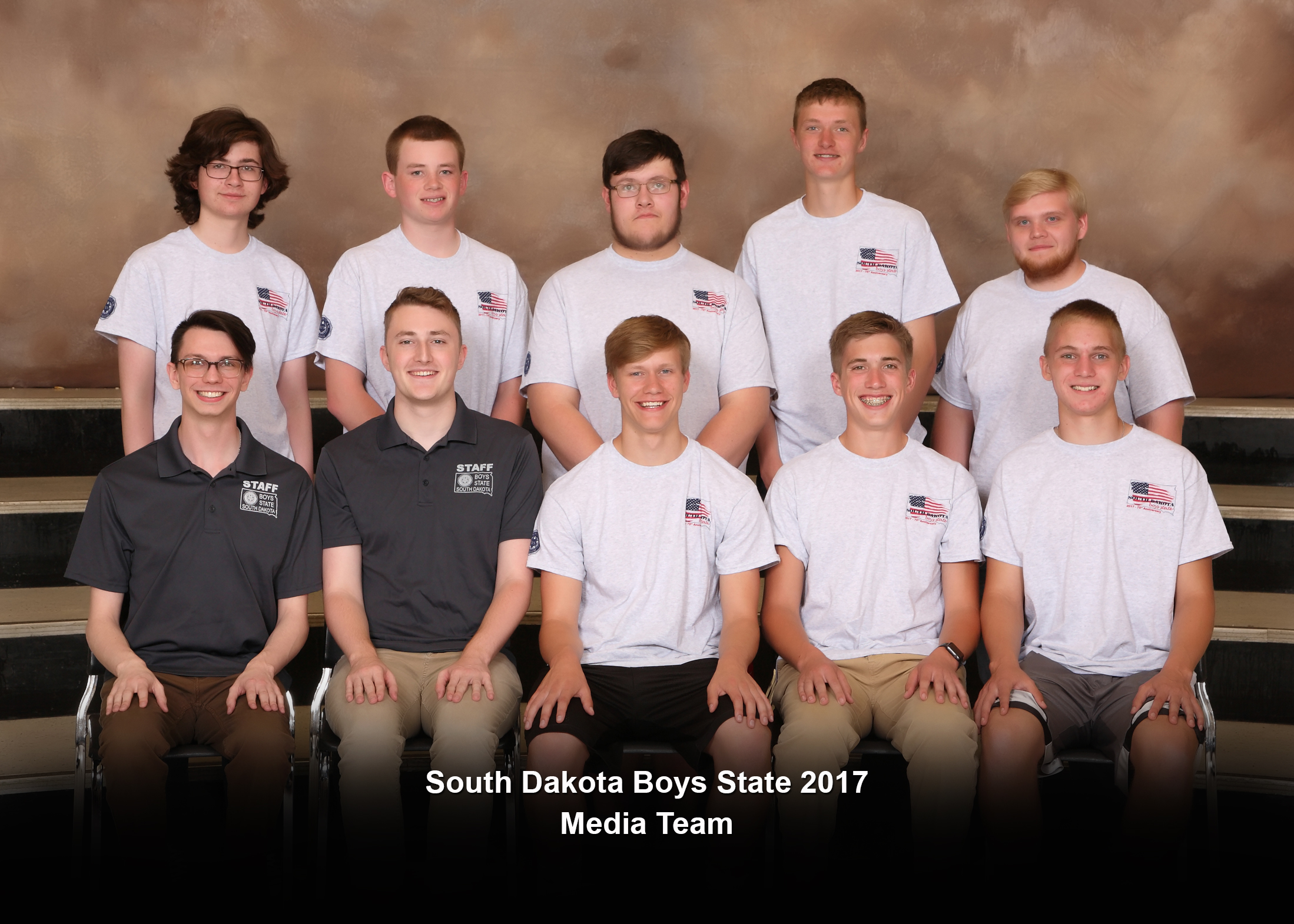 South Dakota Boys State Media Team 2017