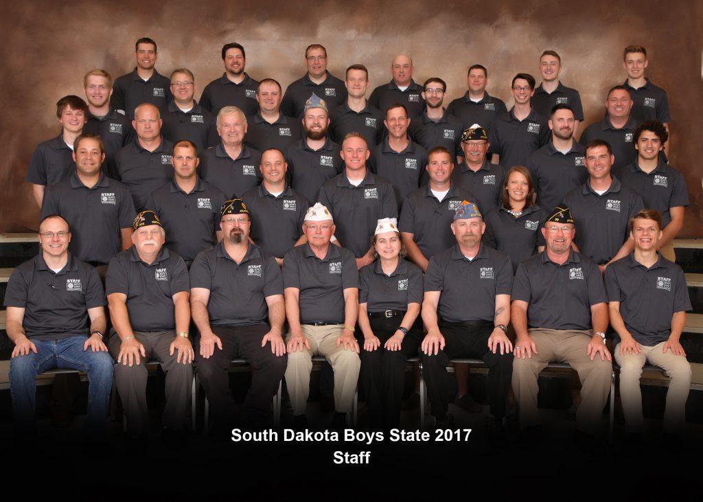 South Dakota Boys State Staff 2017