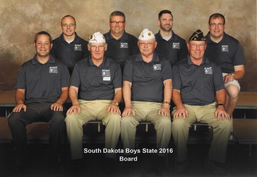 Boys State Board of Directors 2016